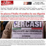 Il Fatto Quotidiano HOME PAGE -2011.02.13